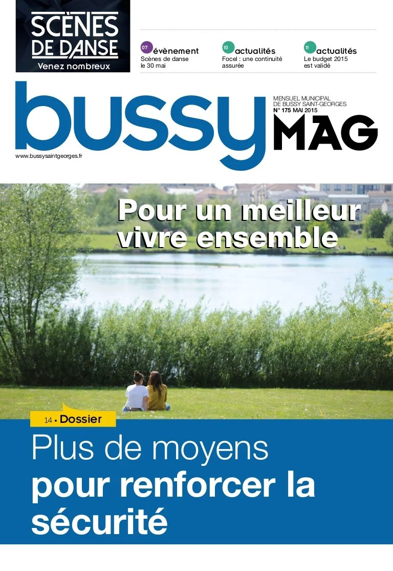Agencity Bussy Saint Georges Journal De Bussy N175