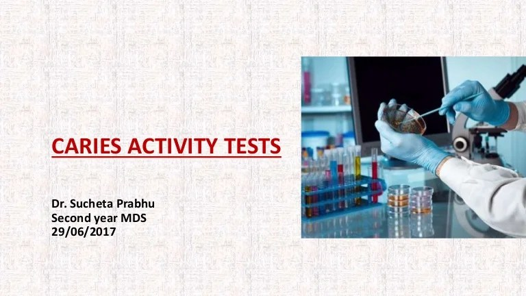 Test 1 Future Jobs Caries Activity Test