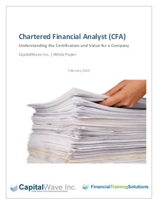 How to Make Online Assessment/Assignment financial analyst fpa - chartered financial analyst sample resume