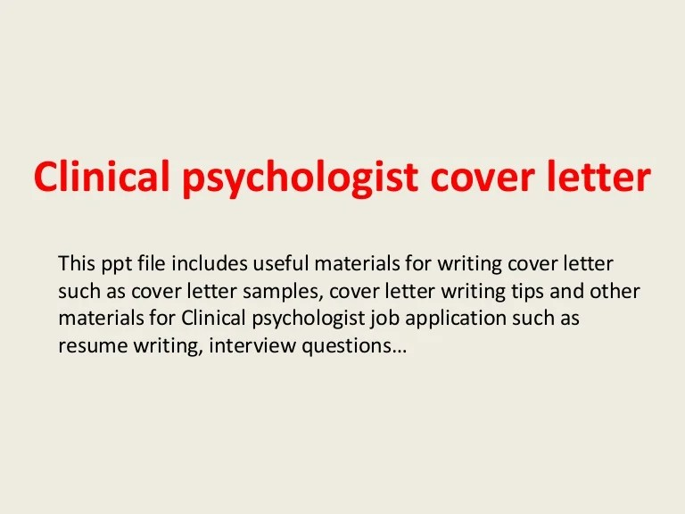 clinical psychologist cover letter - Alannoscrapleftbehind - licensed psychologist sample resume