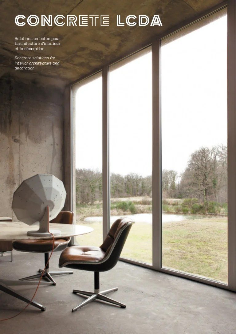 Catalogue De Decoration Interieur Catalogue Concrete Lcda 2015