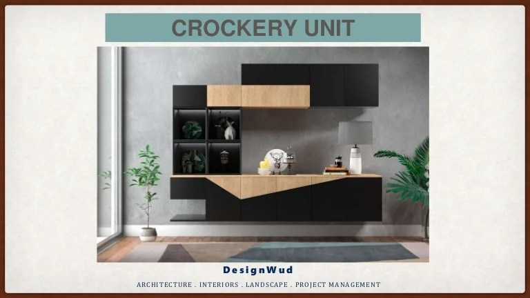 Geschirr Modernes Design Modern Crockery Cabinet Designs For Dining Room And Living