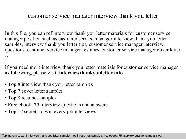 cover letter for customer service manager - Nisatasj-plus