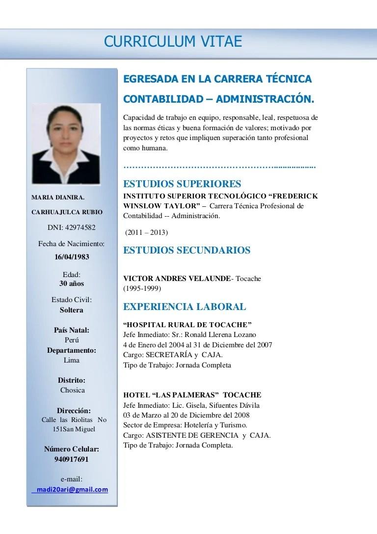 Ejemplos De Curriculum Vitae Para Asistente Administrativo   Resume ...