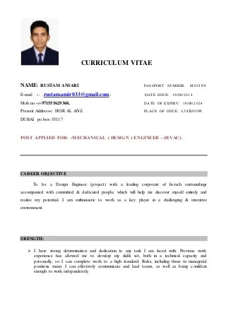 hvac site engineer resume - Goalgoodwinmetals