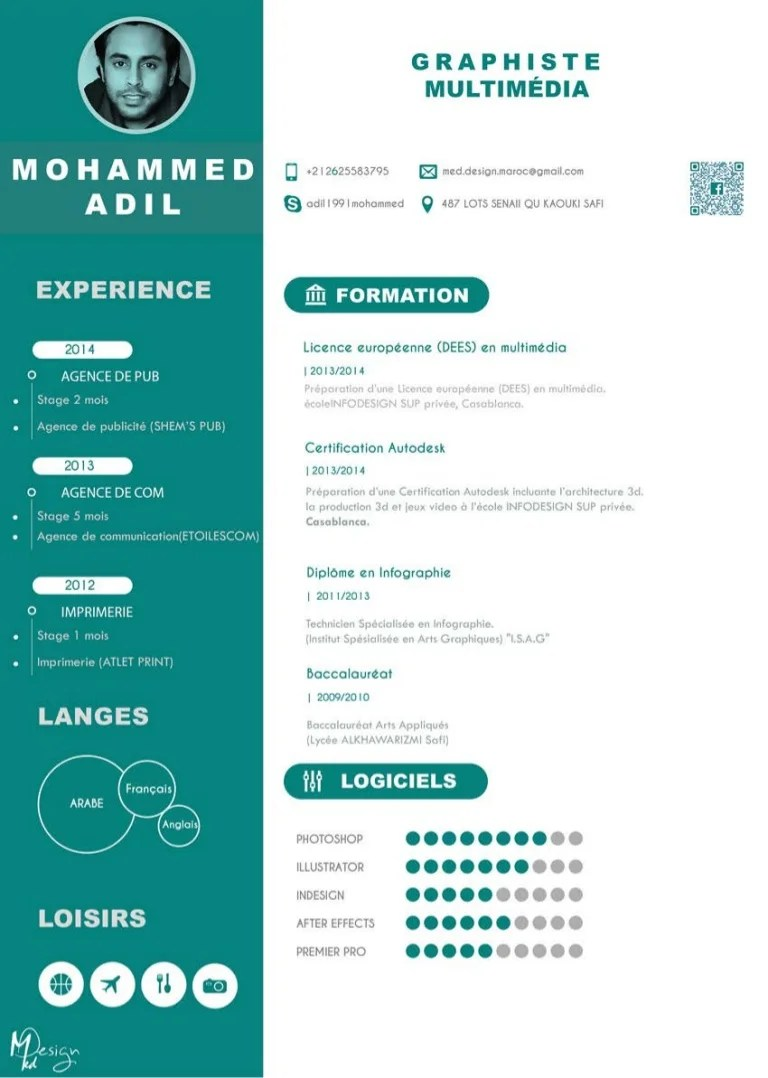 email cv exemple