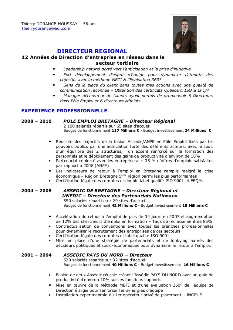 exemple de construction de cv