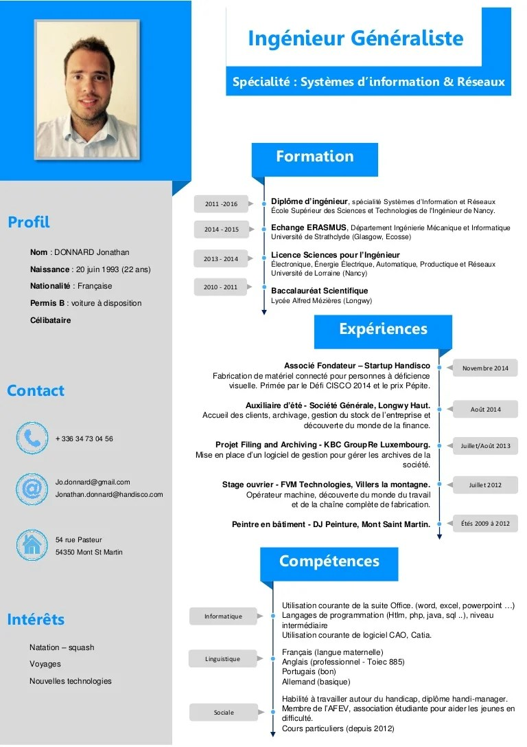 qualite informatique cv