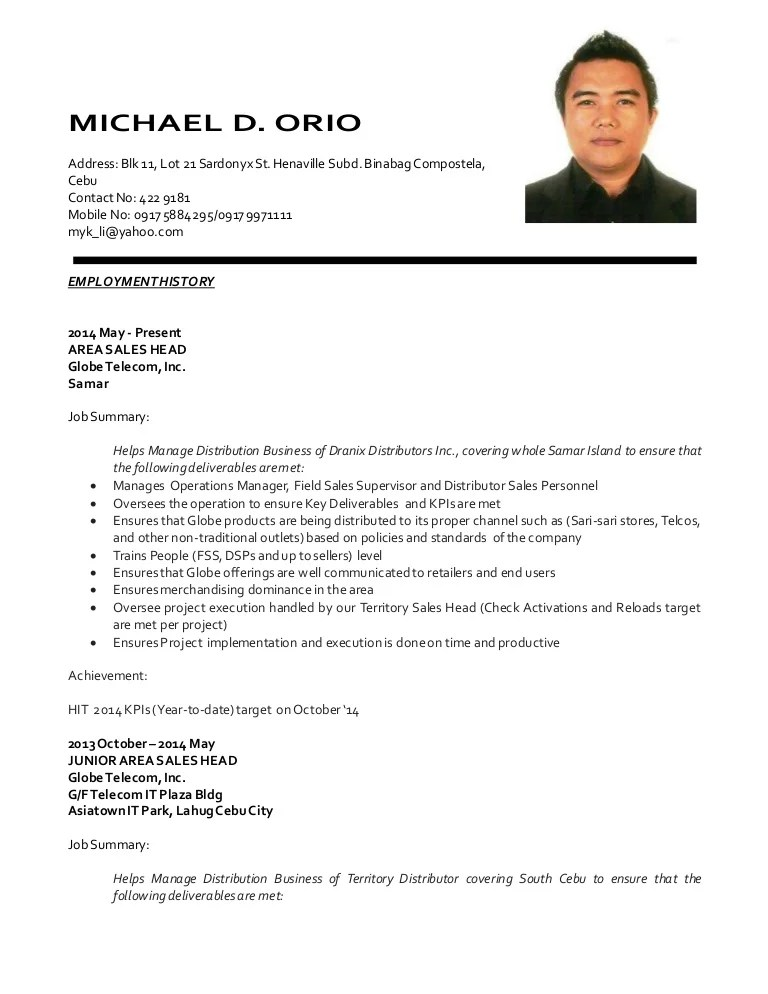 update your resume on linkedin