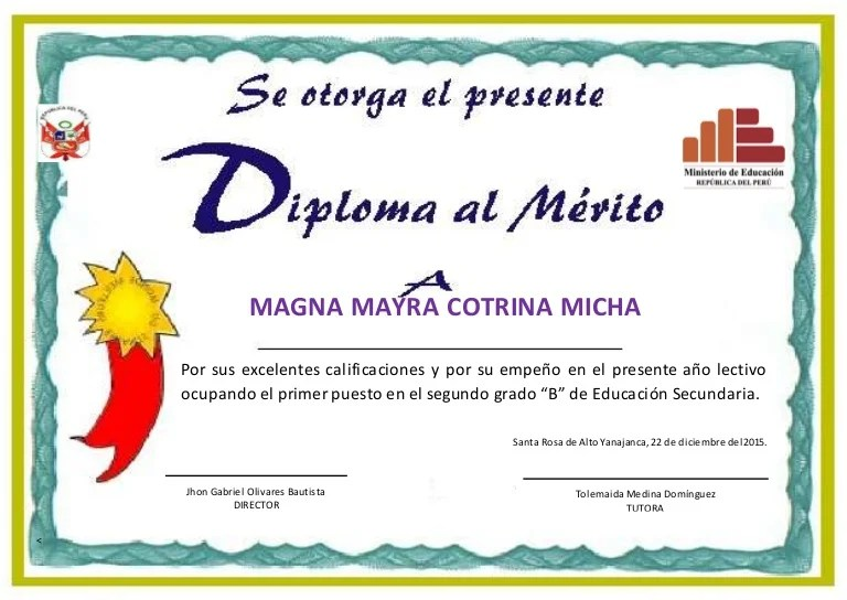 formatos de diplomas editables