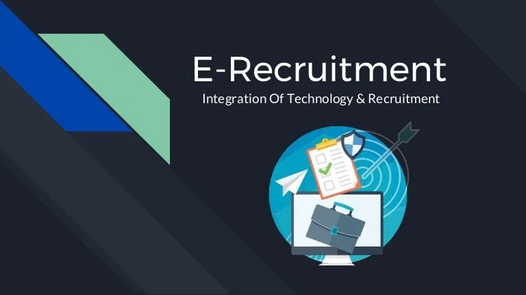 Online Recruitment E- Recruitment