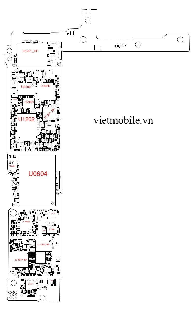 iphone 5s schematic diagram_vietmobile.vn