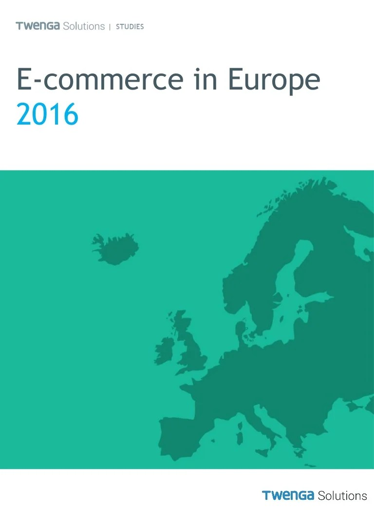 Www.twenga.de E Commerce In Europe 2016