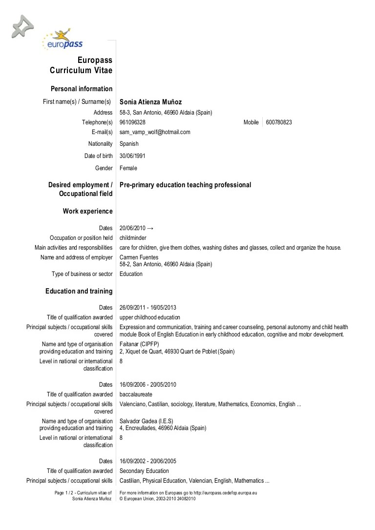 example of resume language skills