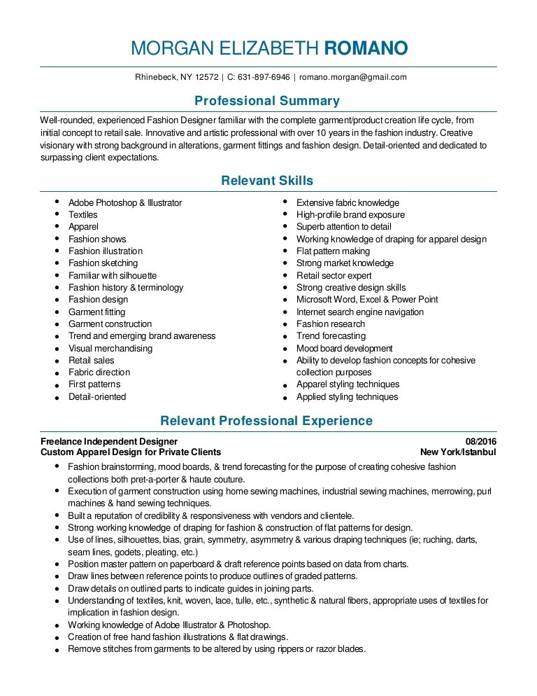 media buyer resume samples