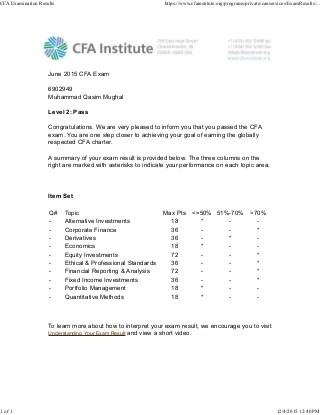 Homework Survey 2014 Newall Green Primary School put cfa level 1 - cfa candidate resume