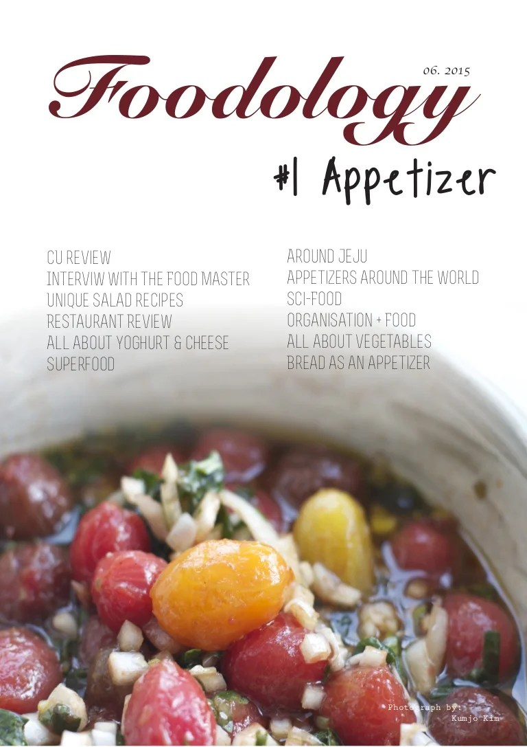 Ma Reduc Cuisine Addict Foodology Magazine 1 Appetizer