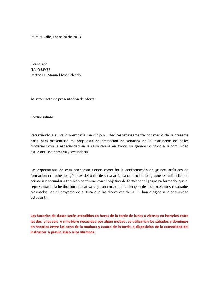 formato propuesta de trabajo servicios - Vatozatozdevelopment