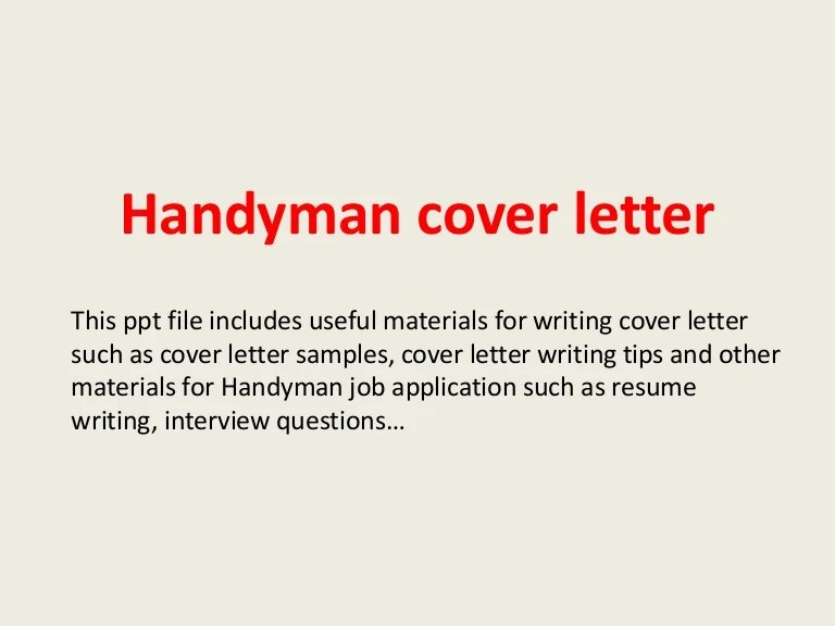 Handyman Description Resume Gallery - resume format examples 2018 - how to write a resume.net