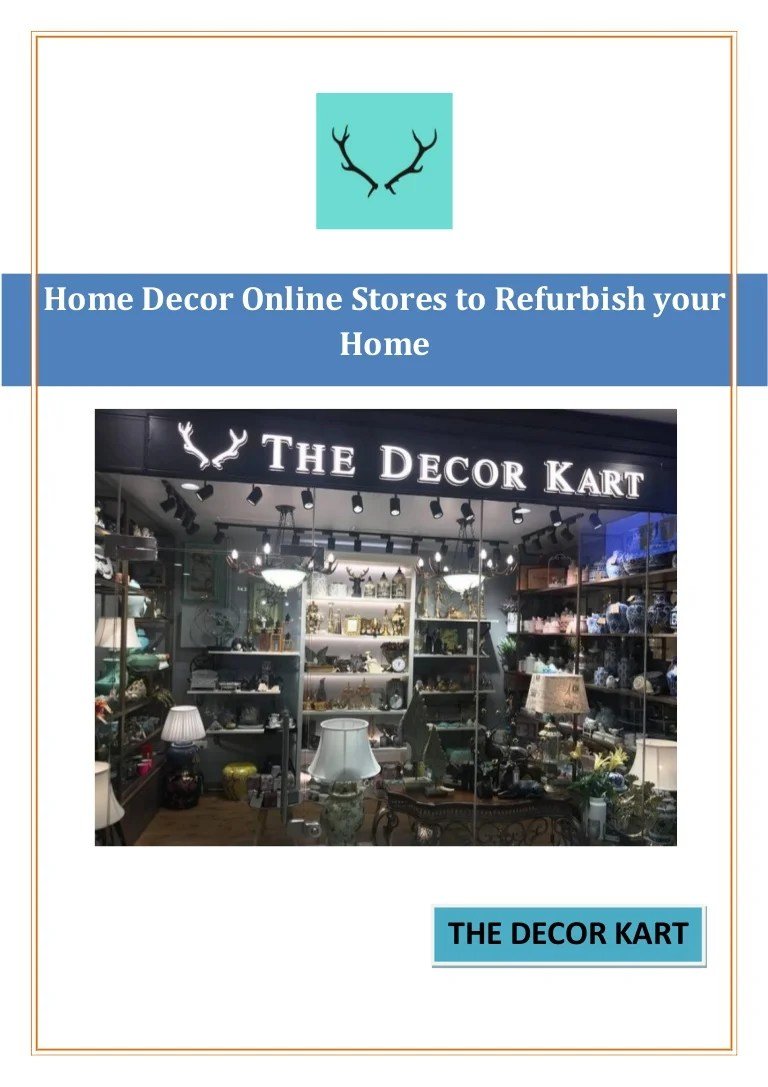 Decor Online Stores Home Decor Online Stores To Refurbish Your Home