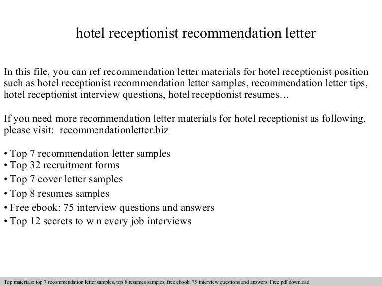 interview questions for receptionist position - Josemulinohouse