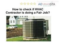 HVAC Contractors Mississauga