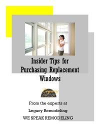 Insider tips for purchasing replacement windows