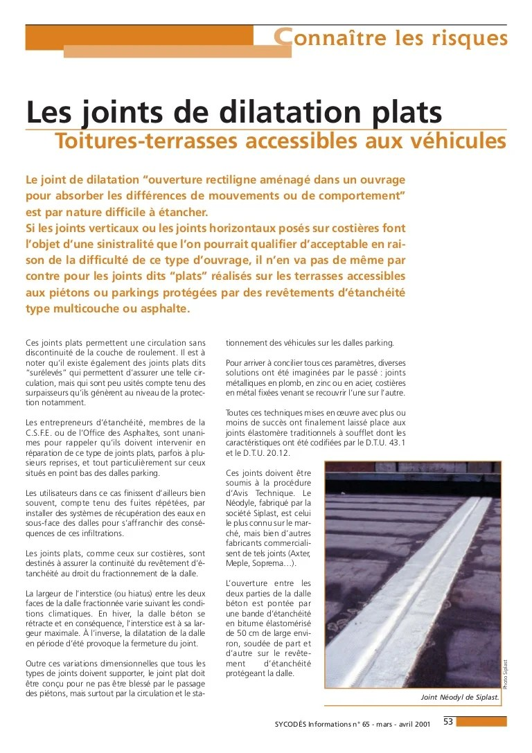 Dalle Beton Terrasse Joint De Dilatation Jd Plats