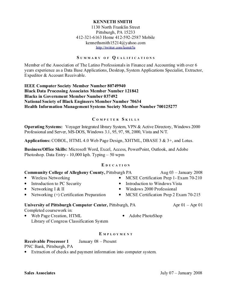 ieee resume format - Ozilalmanoof