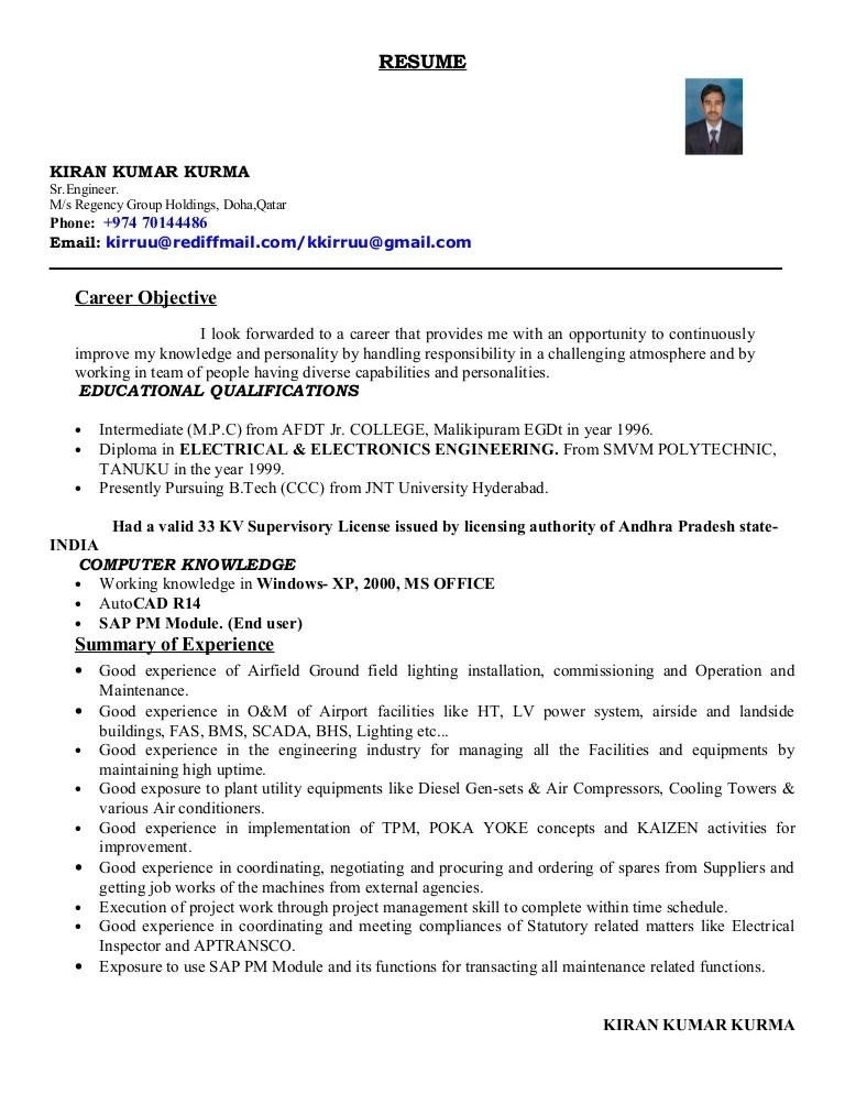 Cctv Operator Sample Resume | Env 1198748 Resume.cloud .