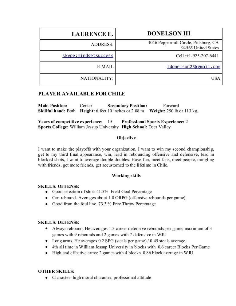 basketball resumes - Goalgoodwinmetals - hockey coach sample resume