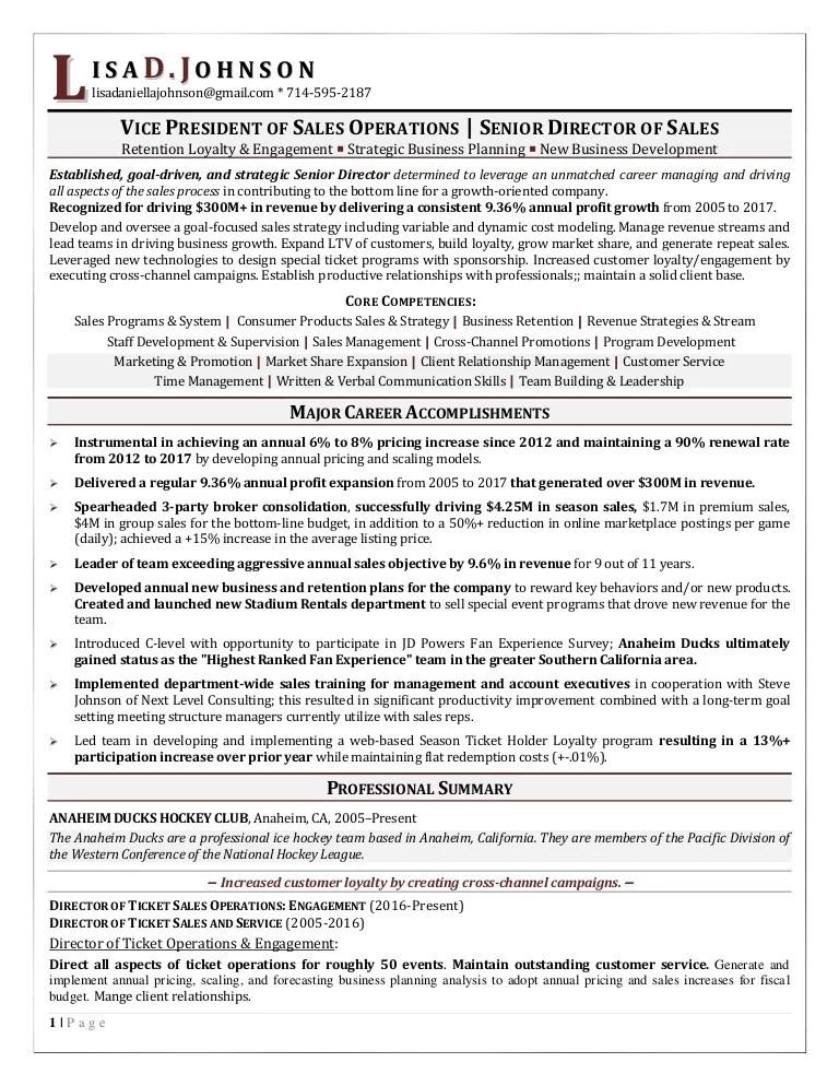ticket sales resume - Ozilalmanoof