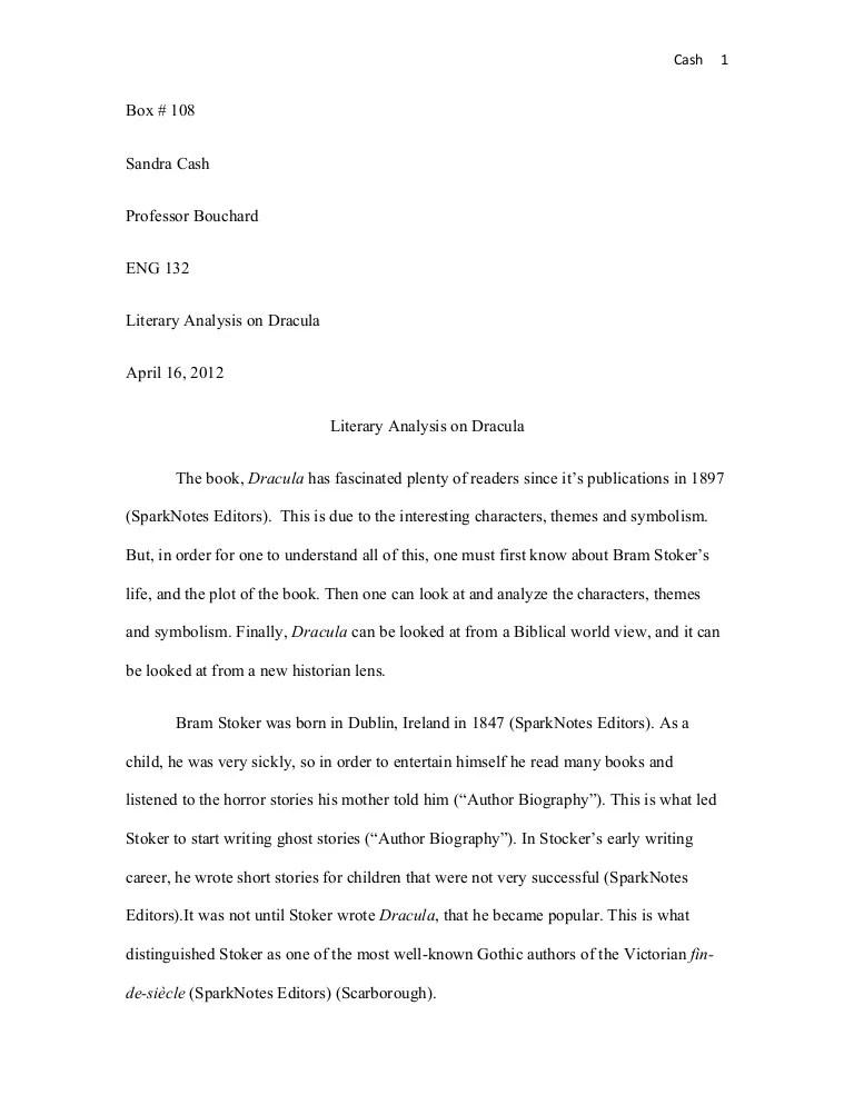 website analysis essay