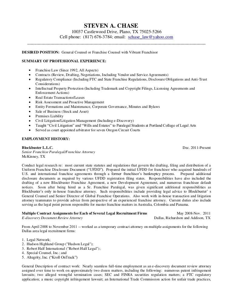 litigation attorney resume samples - Selol-ink - employment attorney sample resume