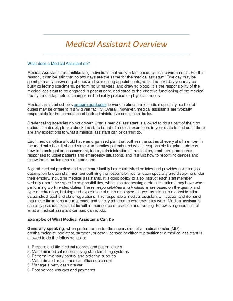 medical assistant internship jobs - Josemulinohouse