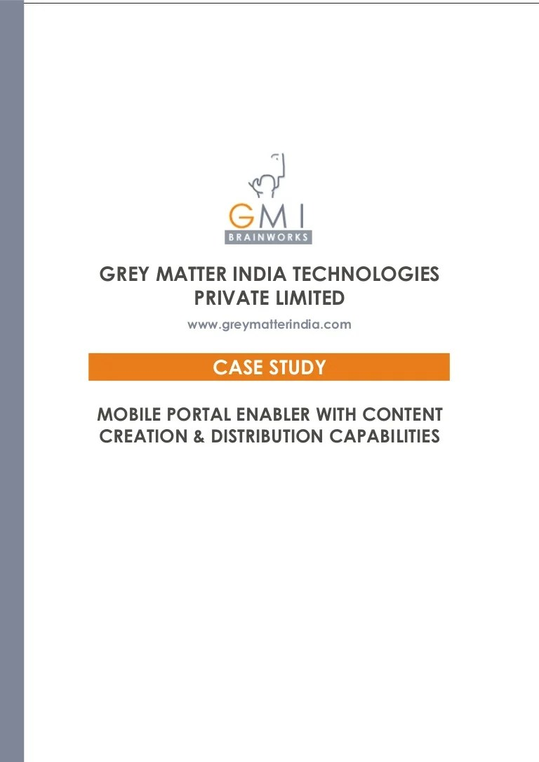 Möbel Portal Mobile Portal Enabler With Content Creation Distribution Capabilities