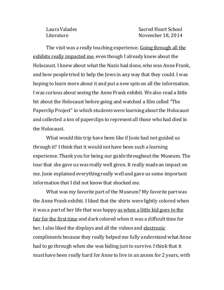 tolerance essay