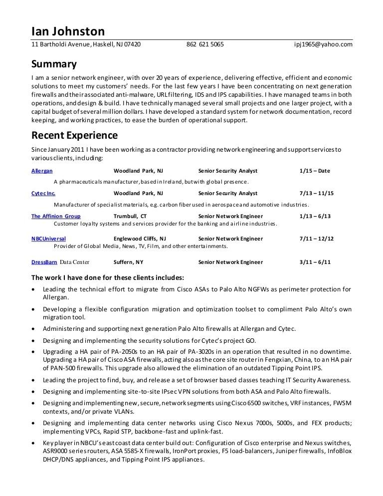 security analyst resume - Ozilalmanoof - information security analyst resume