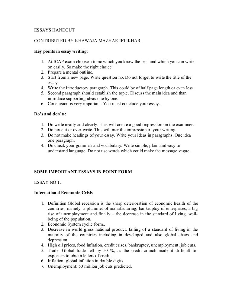 easy essay ideas - Vatozatozdevelopment