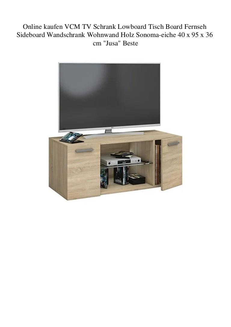online kaufen vcm tv schrank lowboard tisch board fernseh sideboard w