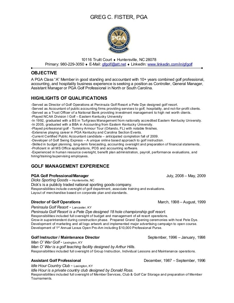 golf resumes - Ozilalmanoof - college golf resume template