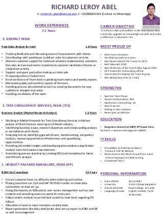 Before You Write That HBS Essay - Poets and Quants Poets and - treasury analyst sample resume