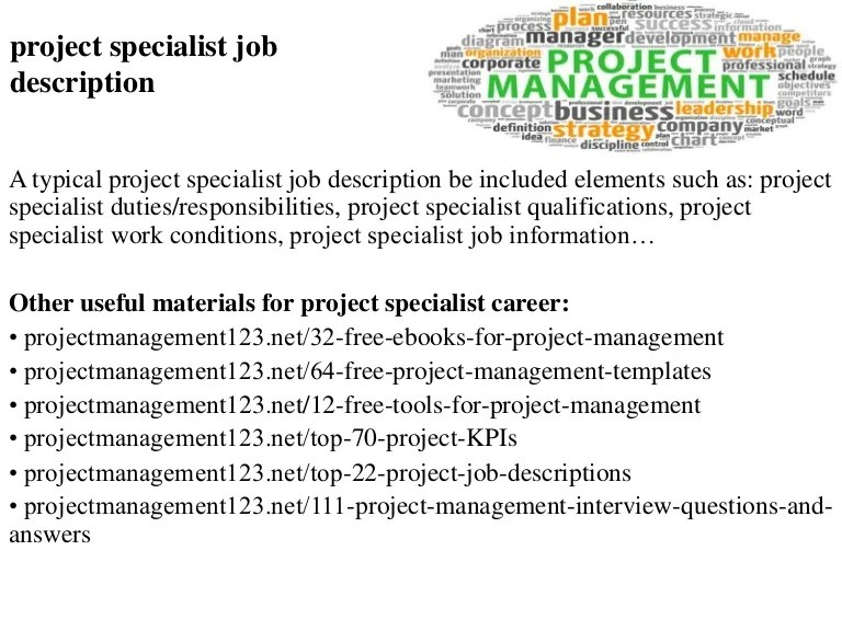 Project Manager Job Description Job Description For It Project    Construction Manager Job Description