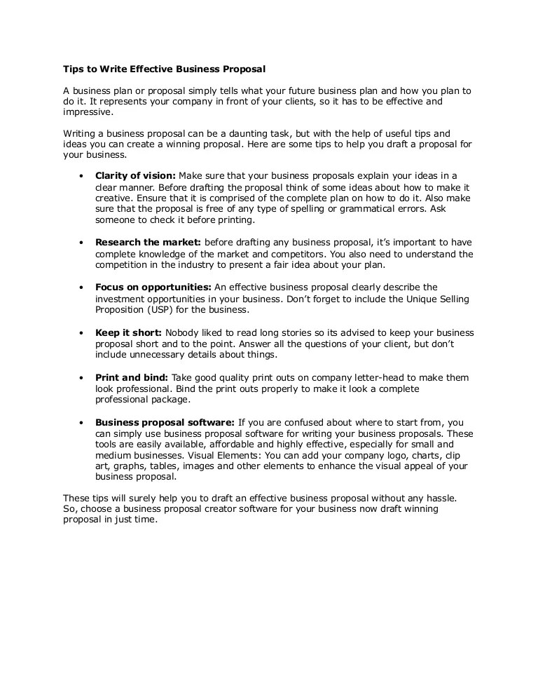 creative business proposal ideas - Intoanysearch - business proposals
