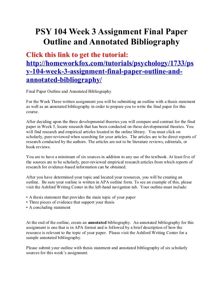 essay bibliography examples - Intoanysearch - Annotated Bibliography Template Apa