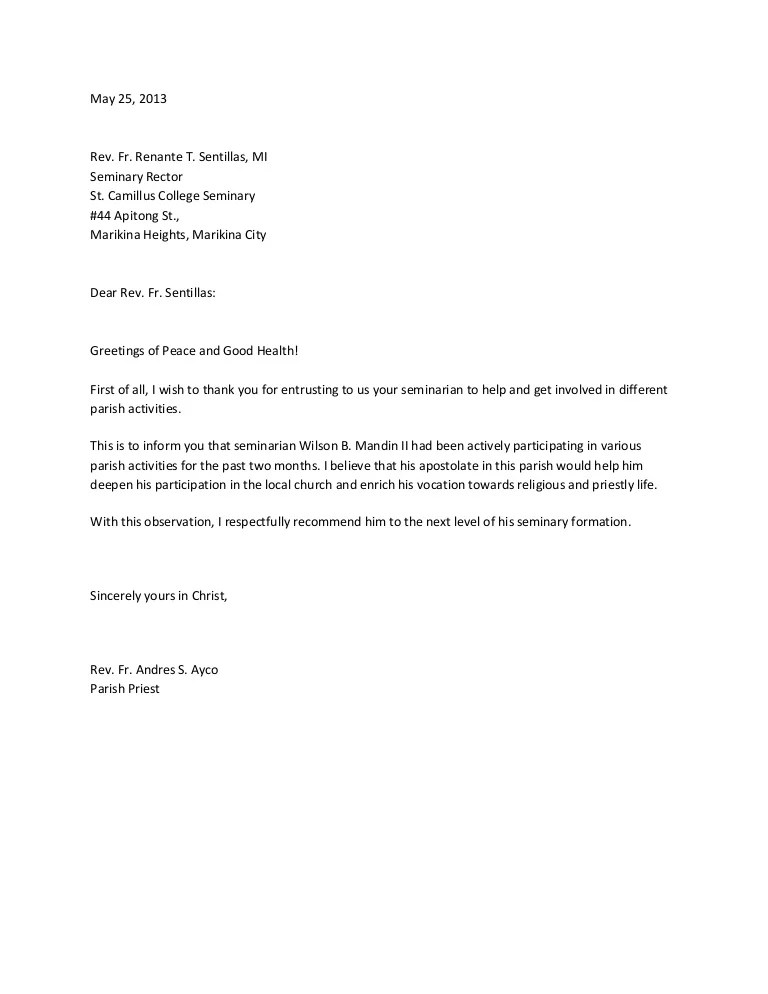 raise recommendation letter