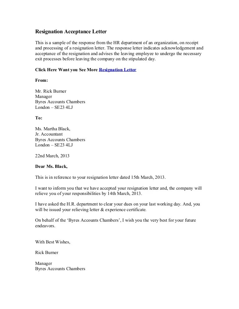 accepting letters of resignation - Tikirreitschule-pegasus - Temporary Resignation Letter