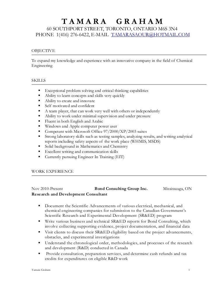 chemical process operator resume samples - Maggilocustdesign