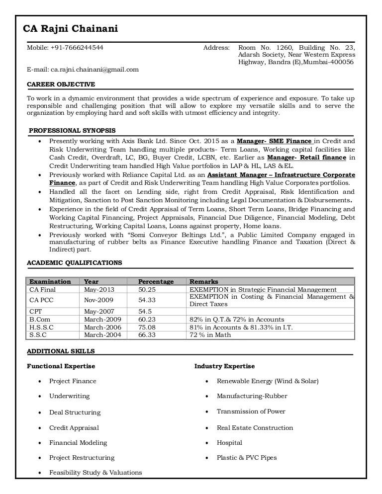 Resume rajni chainani.updated