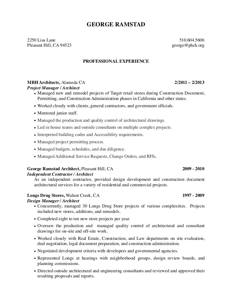 general contractors resume - Josemulinohouse - Building Contractor Resume